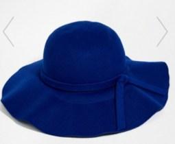 Yumi Floppy 70s felt hat, at Asos
