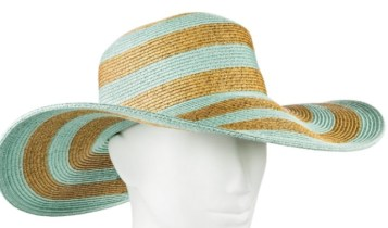 Mint/Natural hat by Merona (at Target)