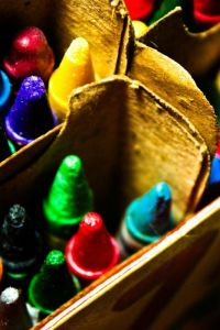 How to Remove Washed On, Dried On Crayon Stains