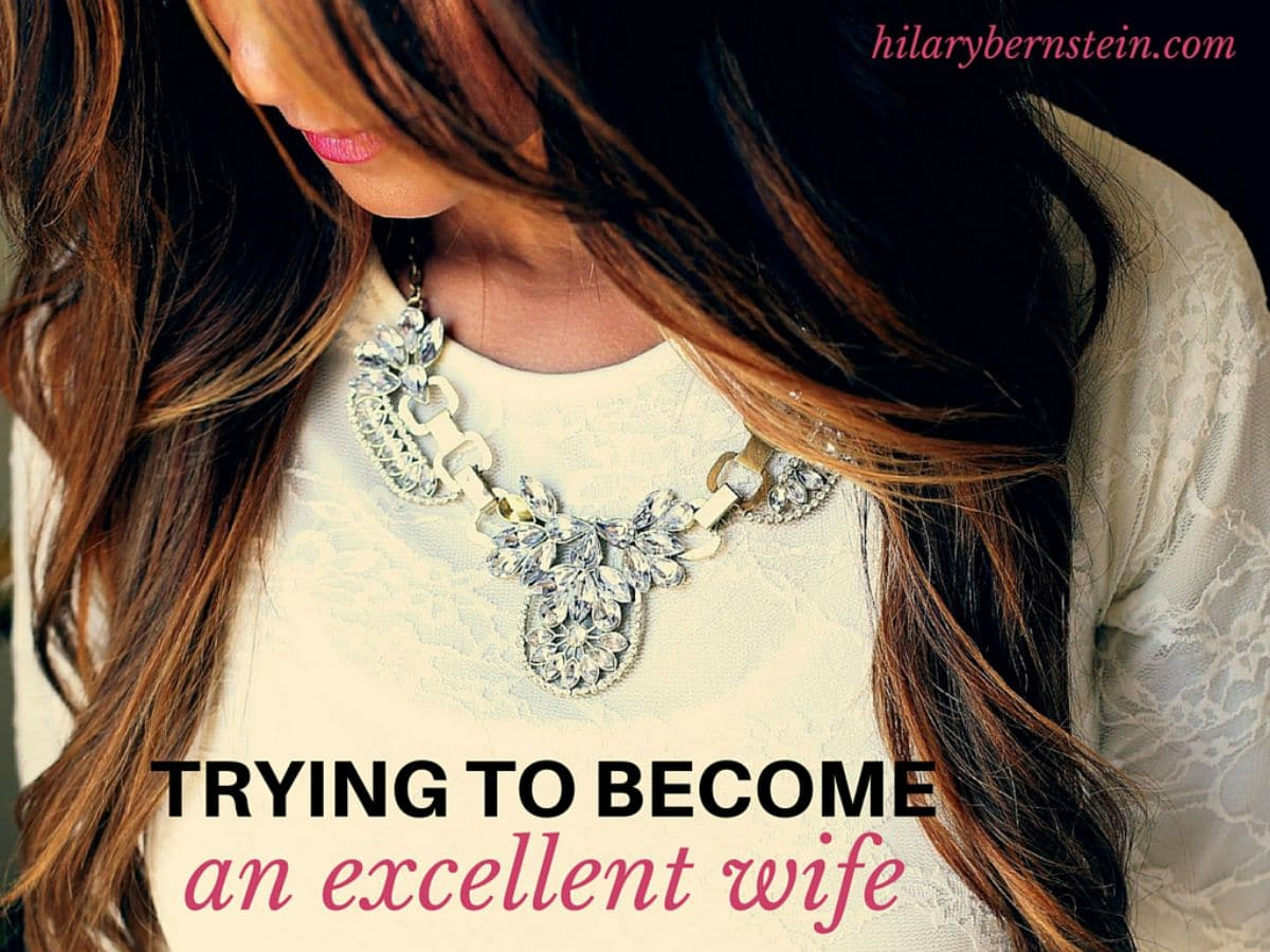 Marriage is hard. But it's also good. And as you study Proverbs 31, you can learn how to become an excellent wife.