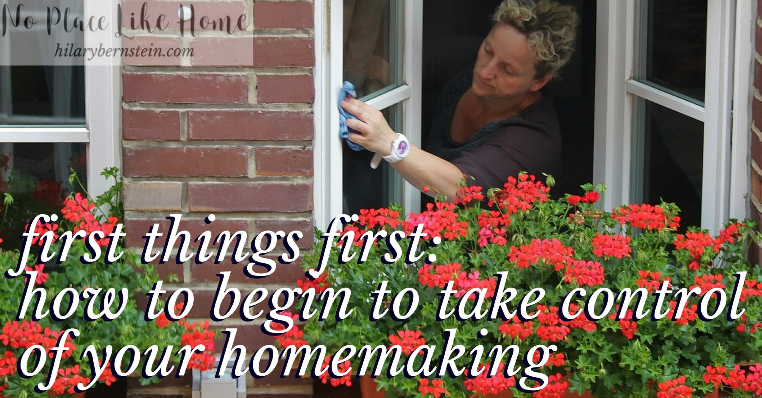Want to learn how to begin to take control of your homemaking? Here's a simple but important way to get started!