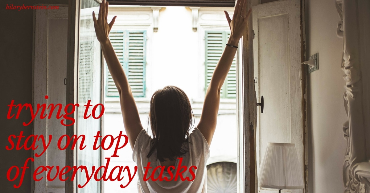 Having trouble when it comes to trying to stay on top of everyday tasks?