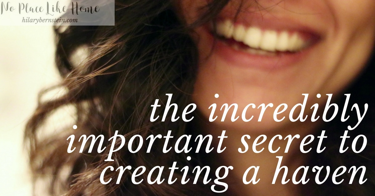 Creating a haven can seem so difficult if you don't know where to begin. There's an incredibly important secret to creating a haven, though!