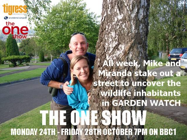 ALL NEXT WEEK - The One Show - Garden Watch - 7pm
