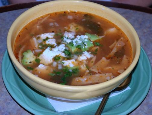 Tortilla Soup at El Palomar