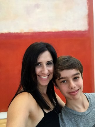 Selfie with Rothko