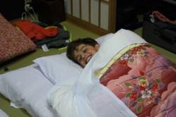 The boys really enjoyed the sleeping arrangements