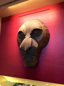 Art in the Lion King Theater