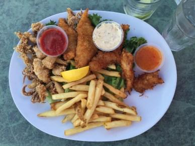 Fisherman's Platter at Aldo's In the Harbor