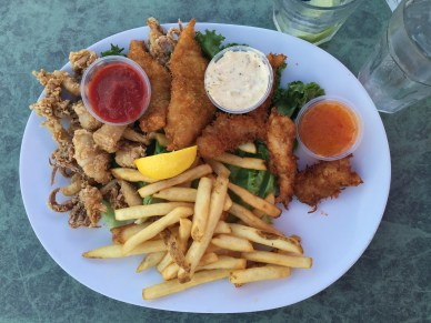 Fisherman's Platter at Aldo's In the Harbor