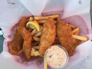 Fish & Chips at Aldos