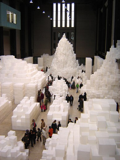 The Turbine Hall with exhibition. Photo Credit: Wikipedia