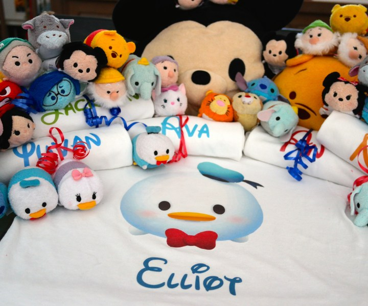 Party Favors and Tsum Tsums!