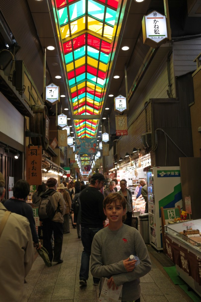 The Nishiki Market is 5 blocks long
