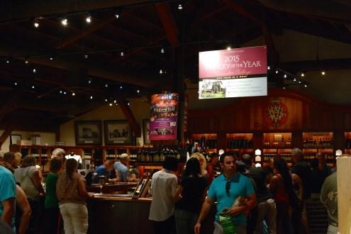 V. Sattui Wine tasting and food market
