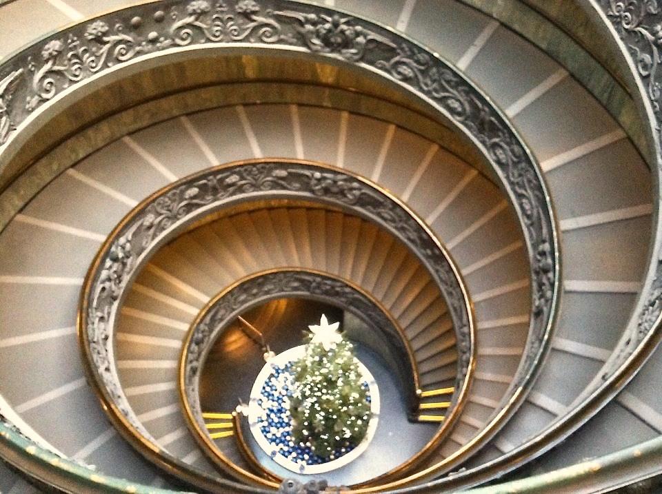 #spiralstaircasexmas