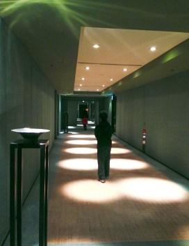 Even the hallways were lovely