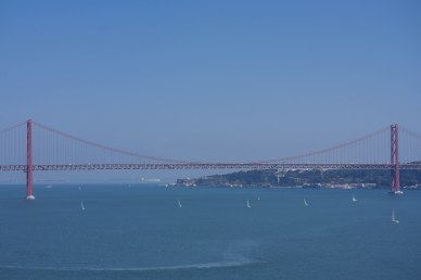 Lisbon's own Golden Gate Bridge