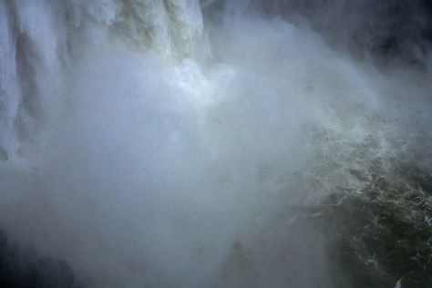 The mist at the bottom of the Falls