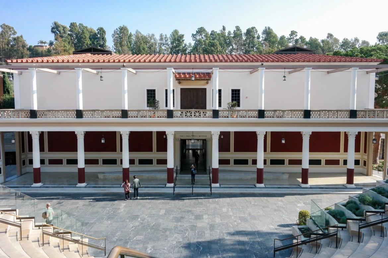 The Getty Villa Los Angeles California