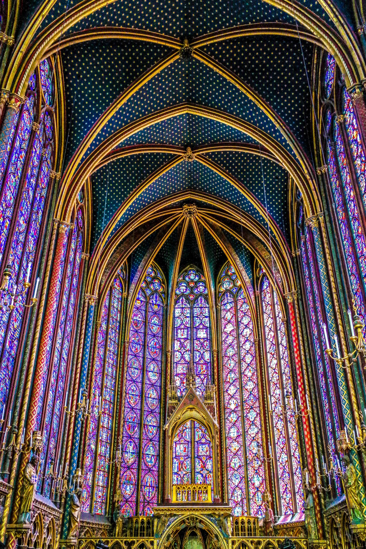Sainte Chapelle Paris France