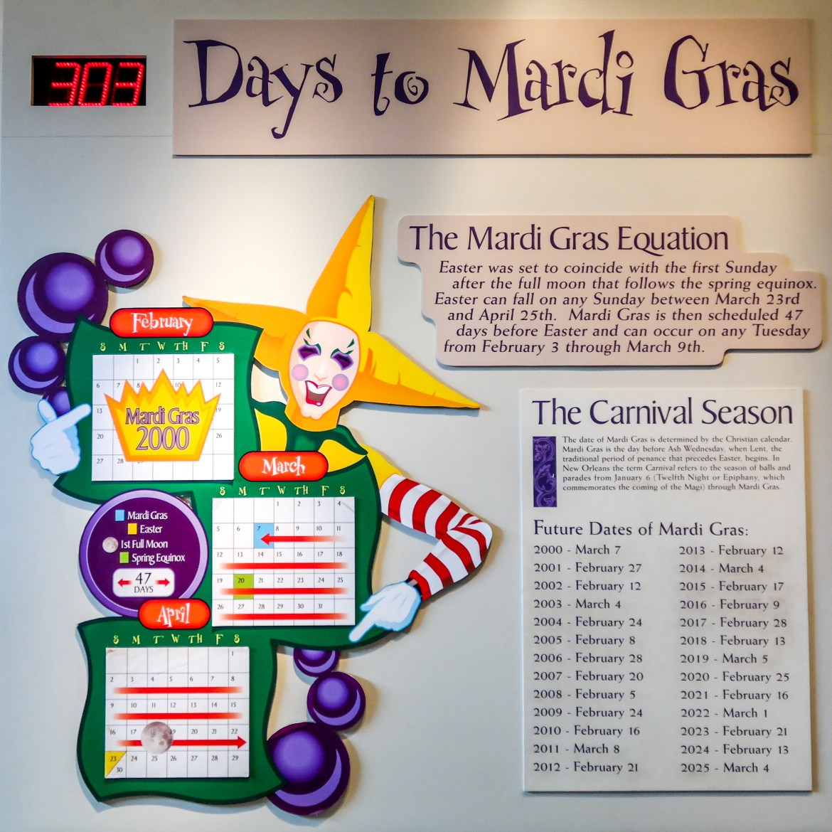 #mardigrascountdown