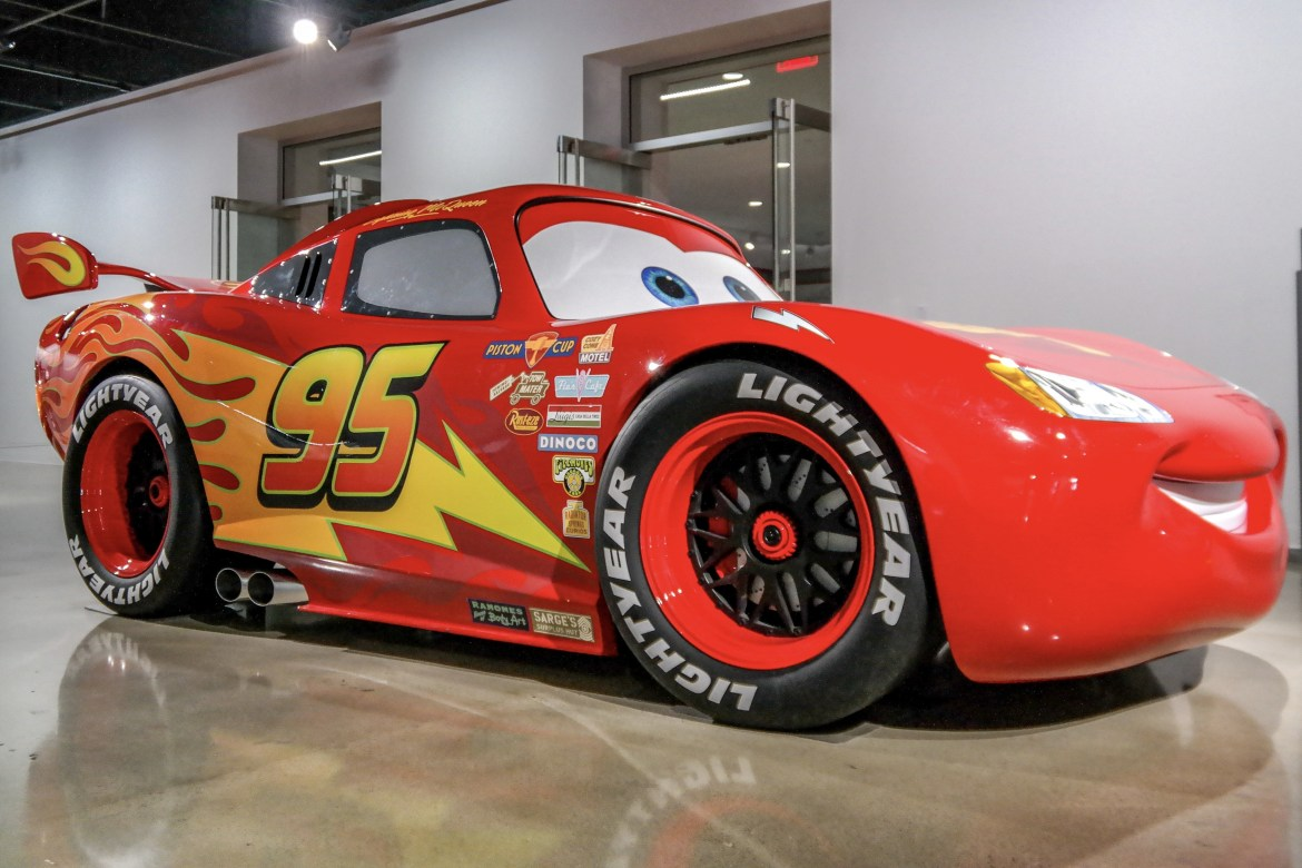 #petersonautomotivemuseumLightening McQueen Peterson Automotive Museum Los Angeles California