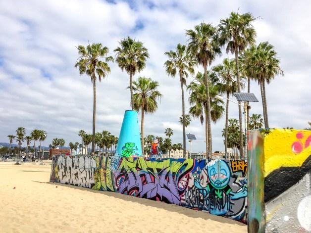 Venice Art Walls Los Angeles California