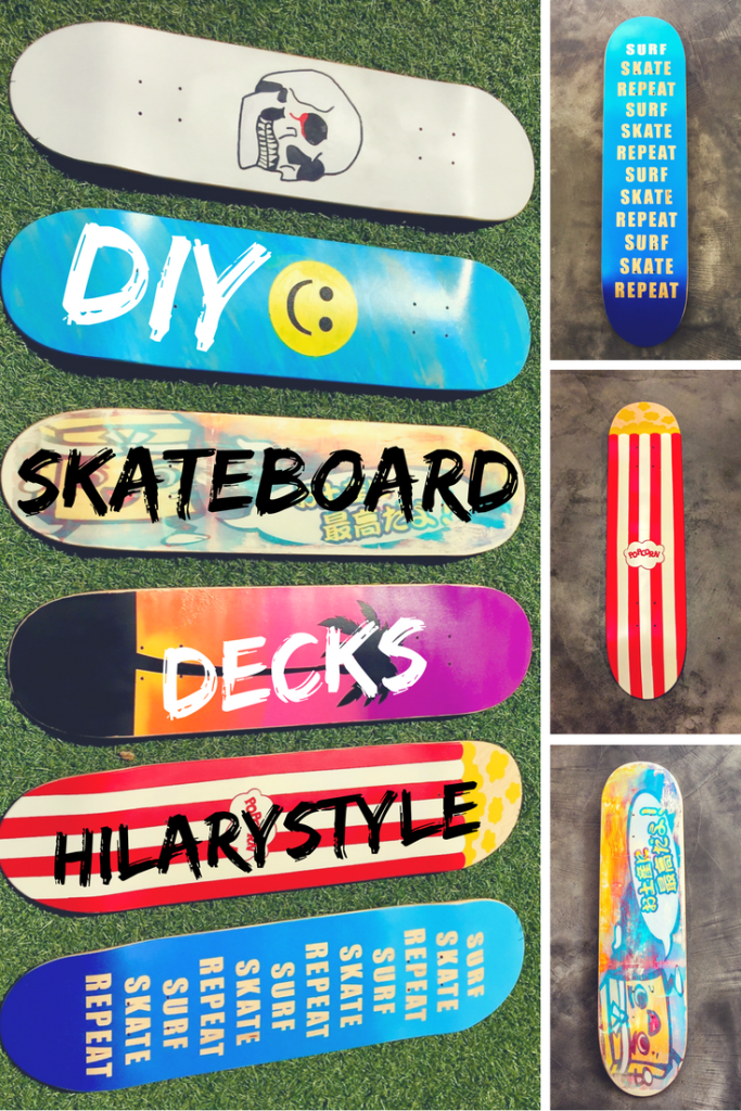 DIY Do it Yourself Skateboard Decks