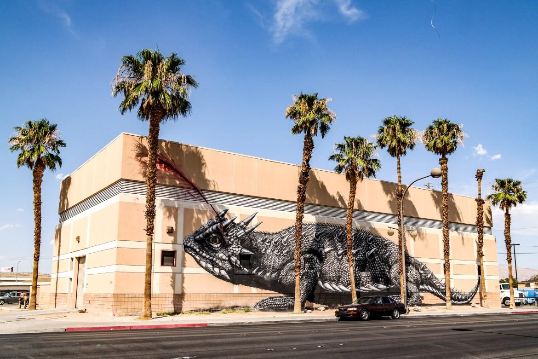 Las Vegas Nevada ROA Street Art