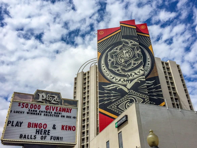 Las Vegas Nevada Shepard Fairey Street Art