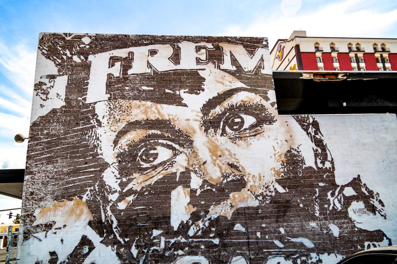 Las Vegas Nevada Vhils Street Art