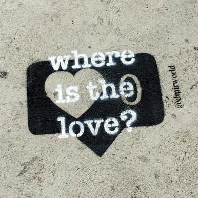Street Art Sidewalk Sayings Los Angeles California