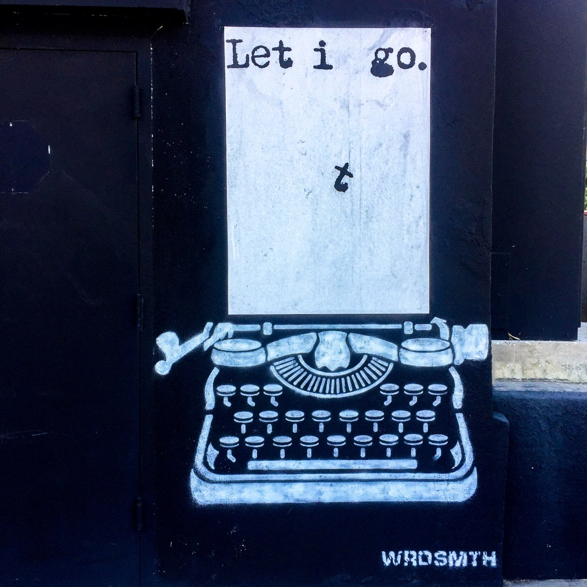 WRDSMTH street art Los Angeles California