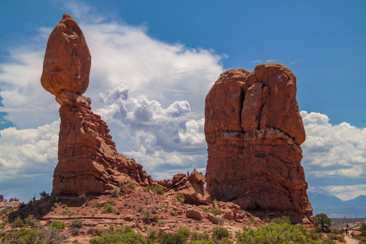 Arches National Park Utah #balancedrock