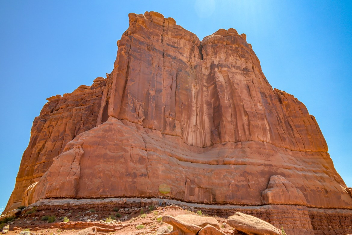 Arches National Park Utah #courthouseview