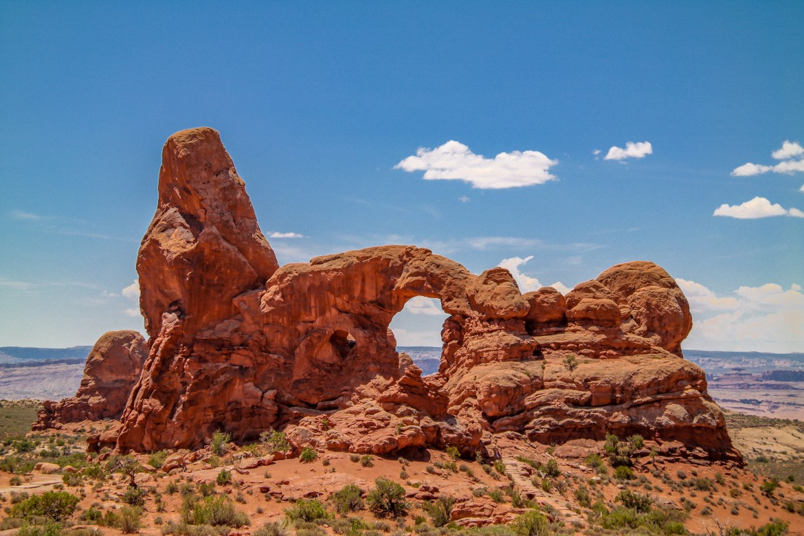 Arches National Park #turretarch