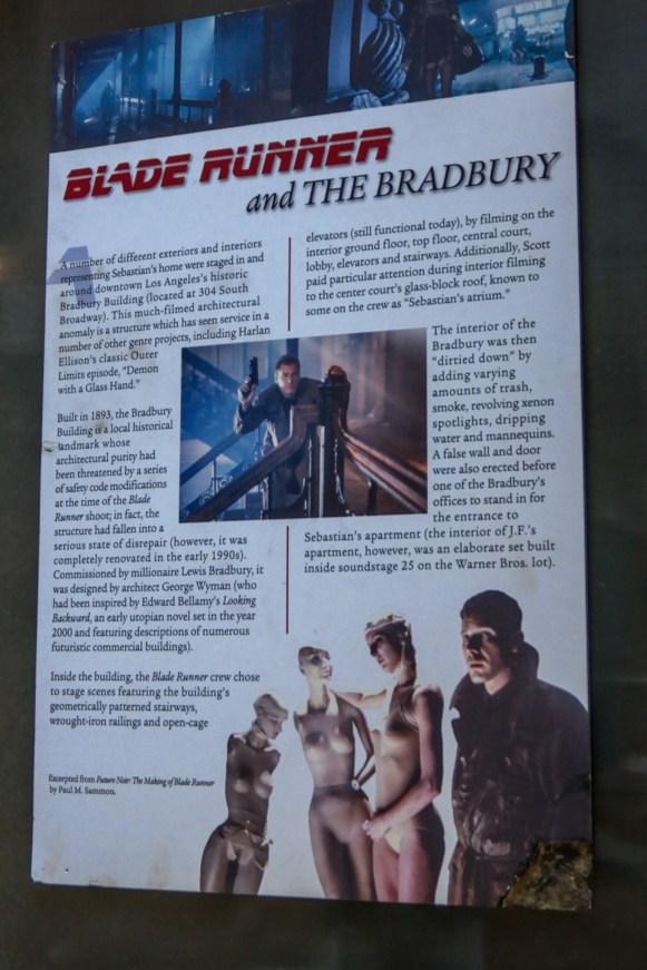 Bradbury Building Los Angeles California #bladerunner