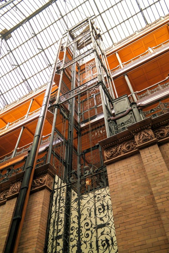 Bradbury Building Los Angeles California #bladrunner