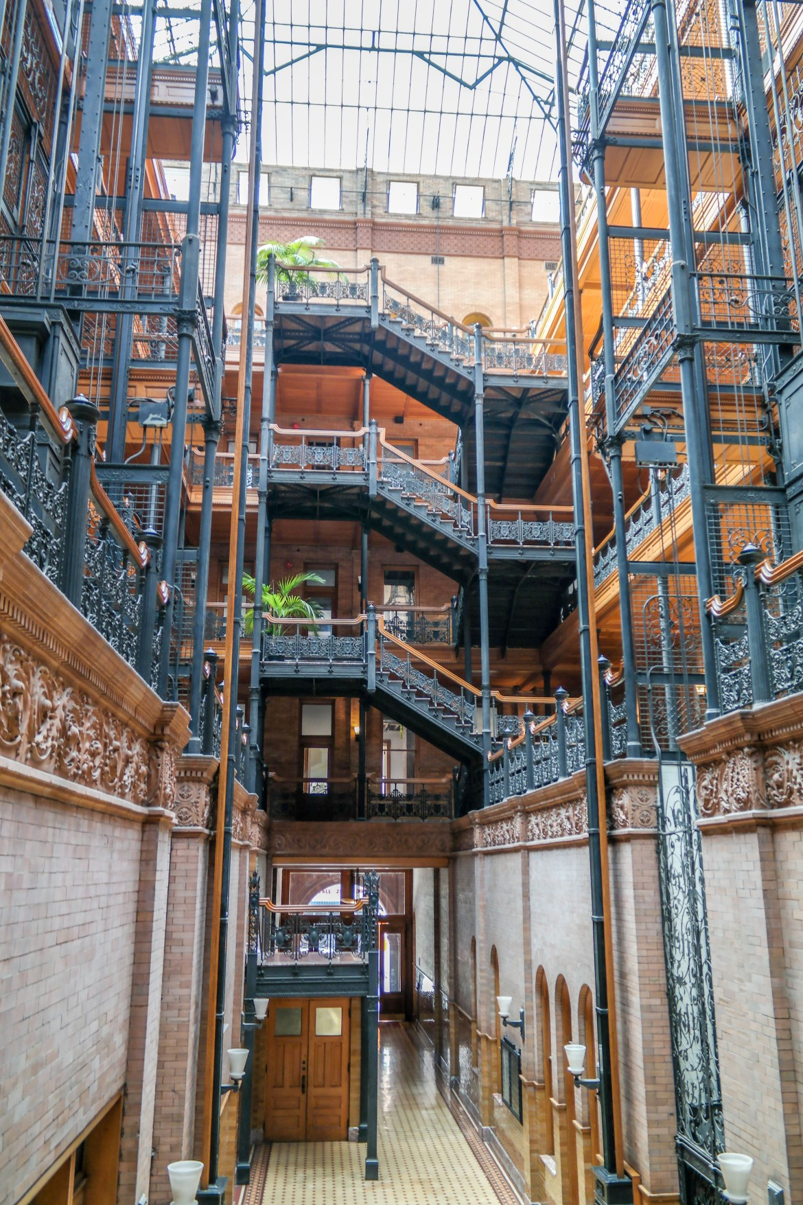 Bradbury Building Los Angeles California #bladerunner