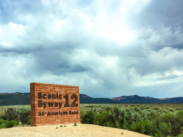 Scenic Byway 12 Utah #scenicbyway12