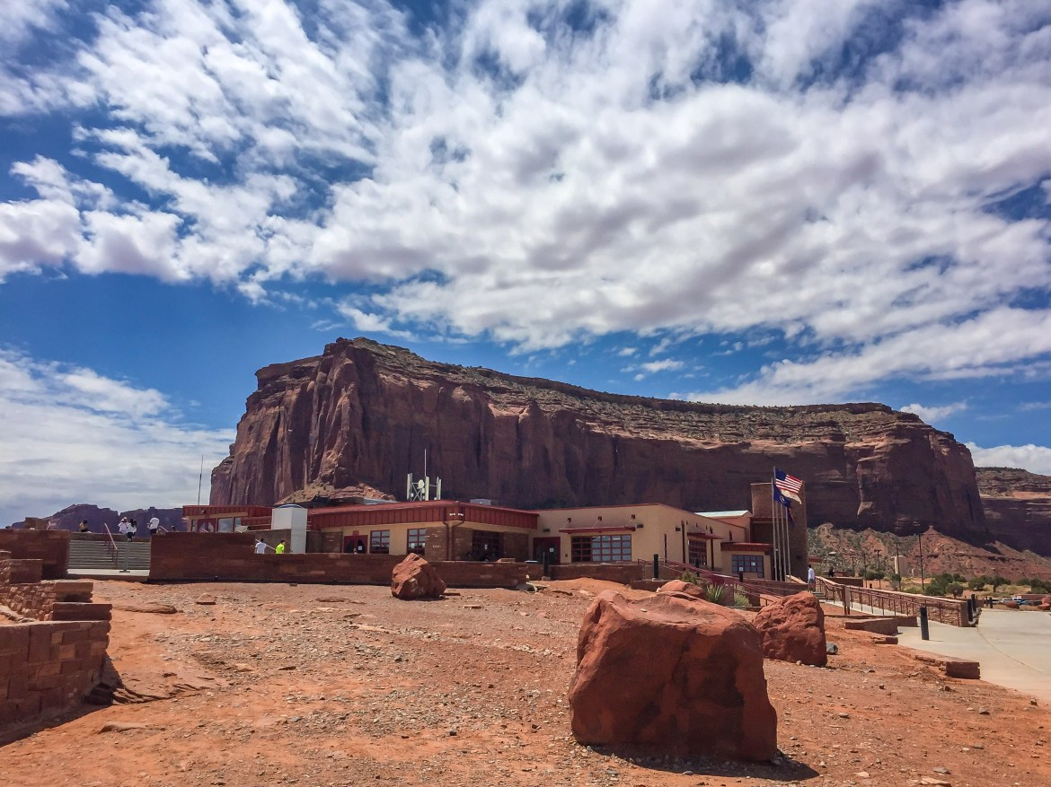 Monument Valley Visitor Center #familyroadtriputah