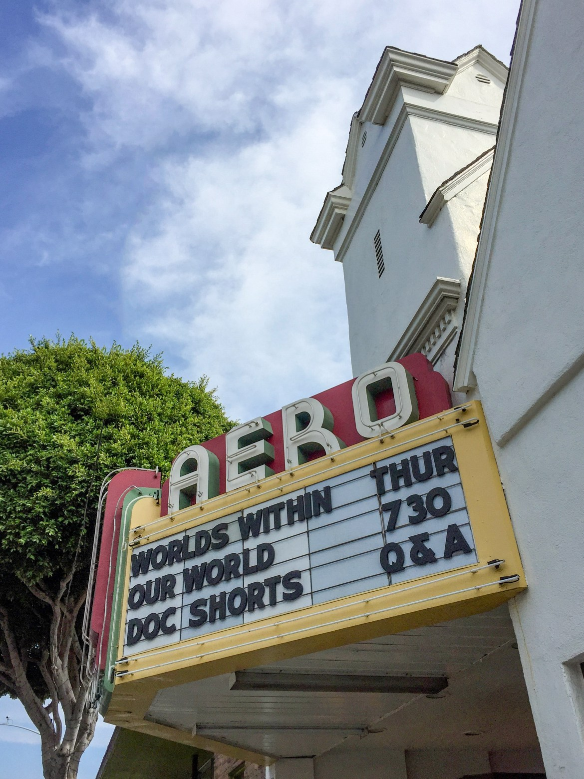 Aero Theater Santa Monica California #thingstodoinla
