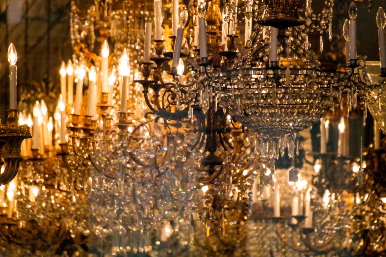 Chandelier New Orleans Louisiana #chandelier