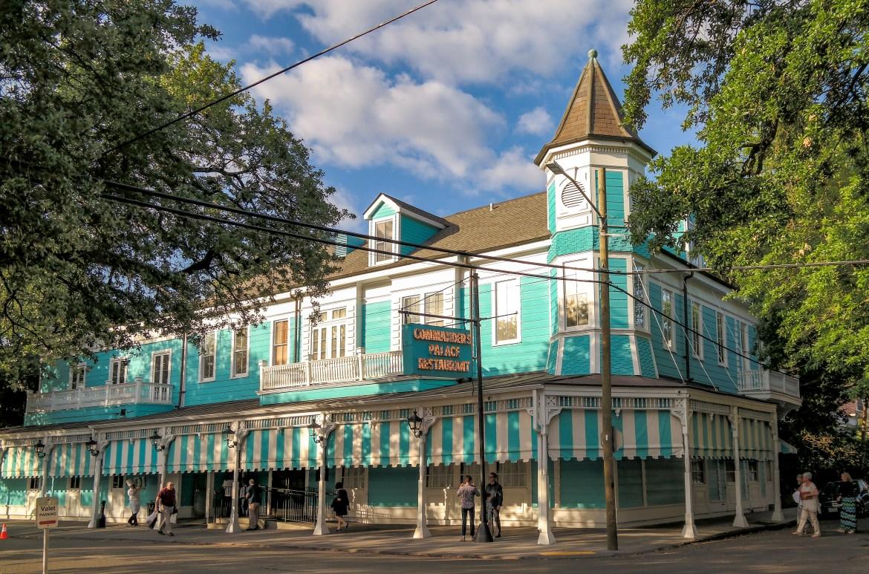 Commanders Palace New Orleans Louisiana