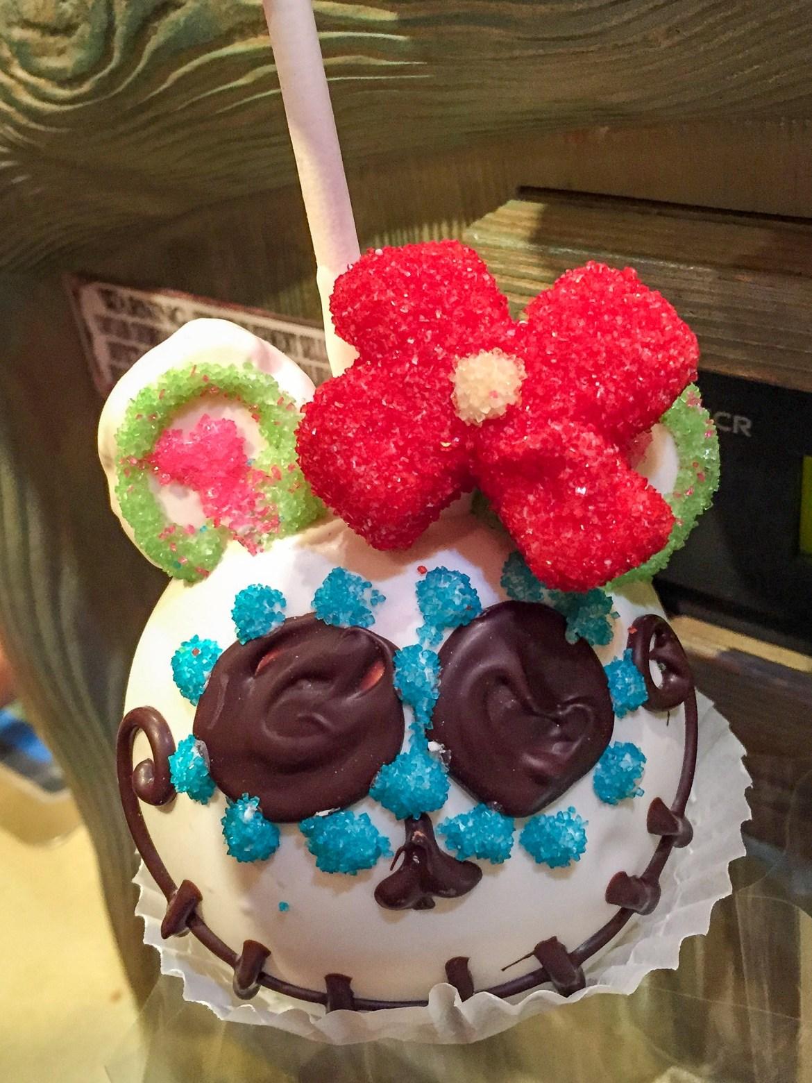 Disneyland Sugar Skull Apple #sugarskullapple