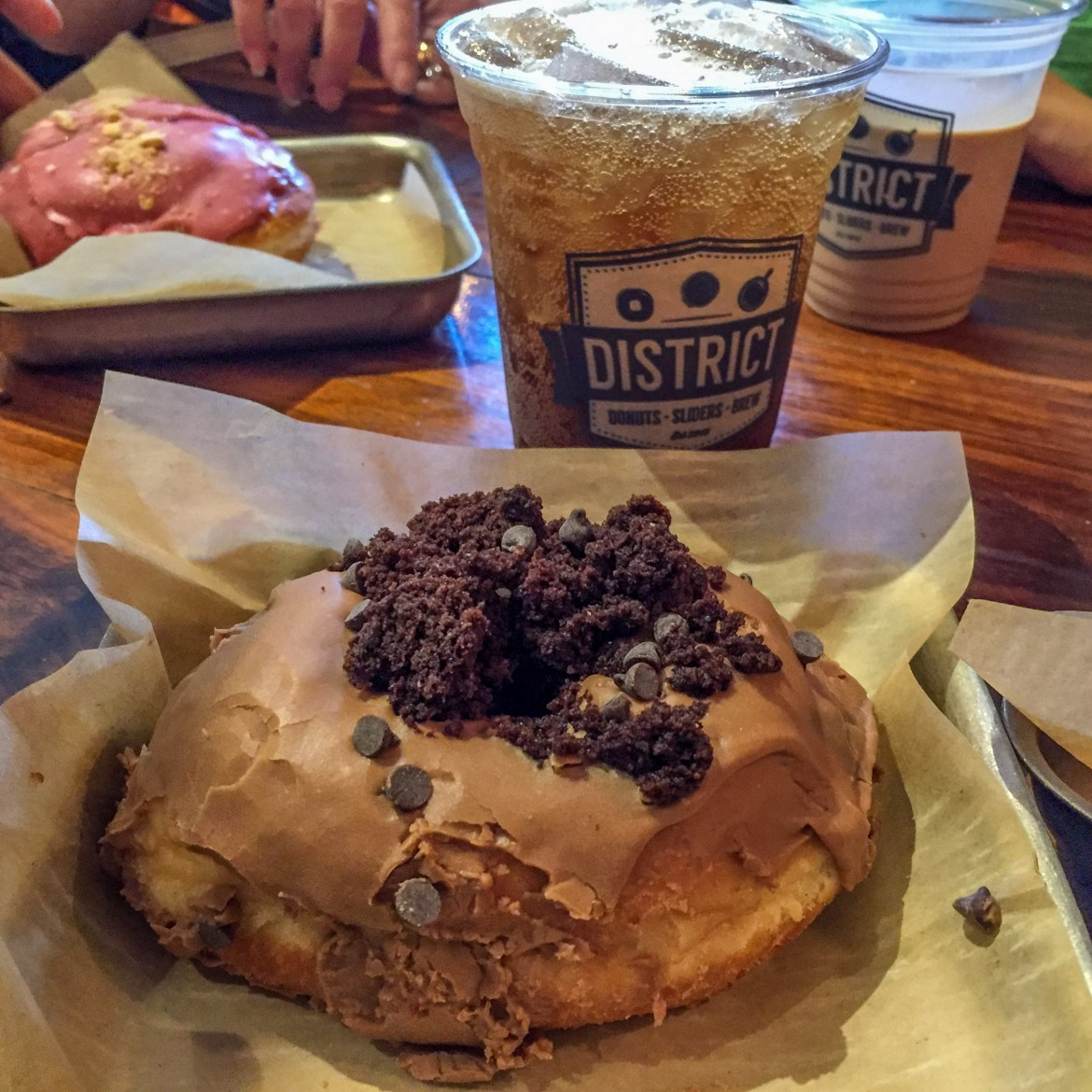 District Donuts New Orleans Louisiana #donuts