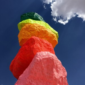 Seven Magic Mountains Las Vegas Nevada #sevenmagicmountains