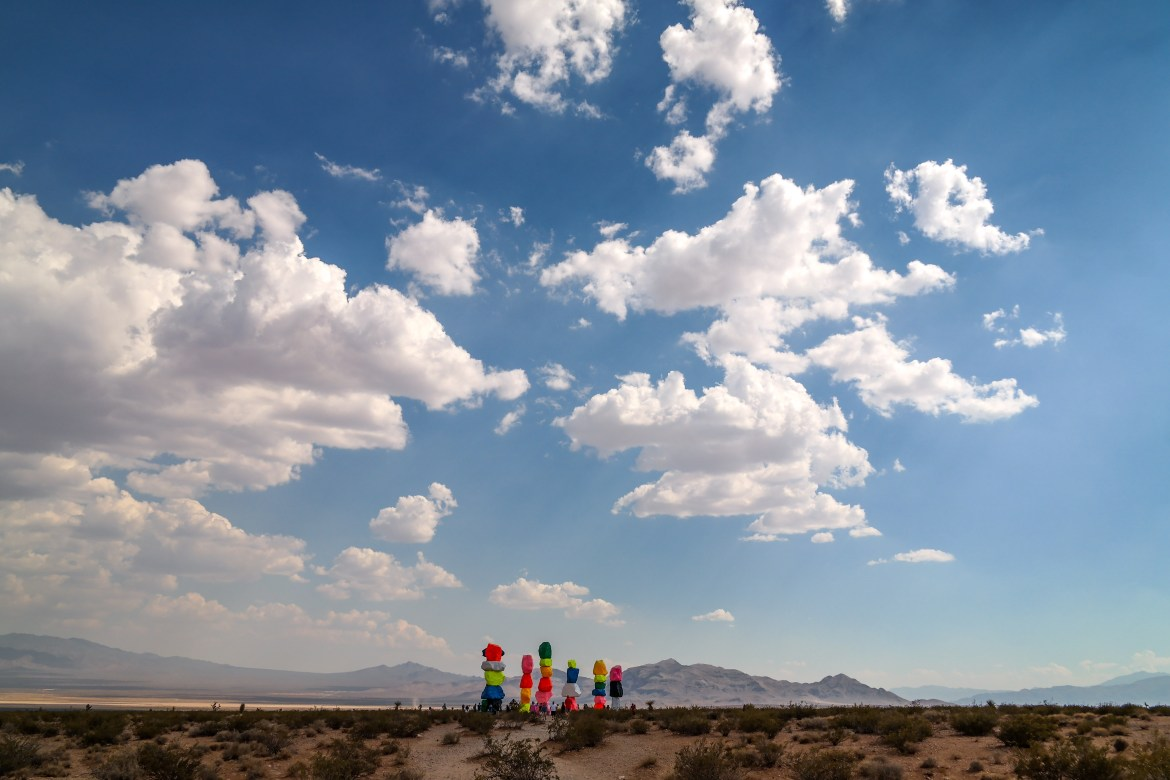 Seven Magic Mountains Las Vegas Nevada