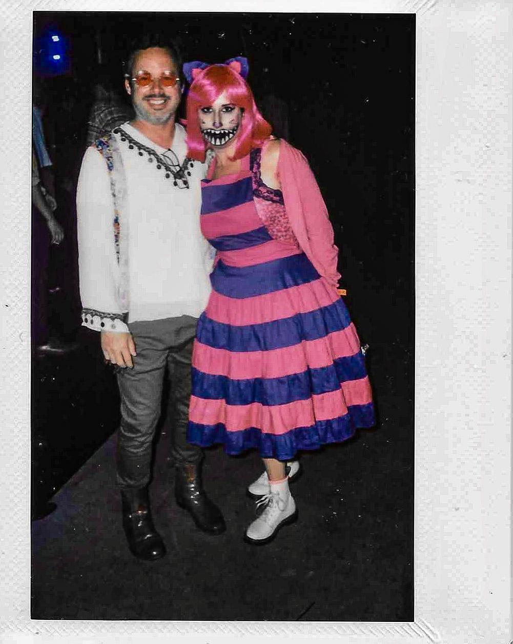 Halloween Party Polaroids 2017 Los Angeles California #halloweenpolaroid